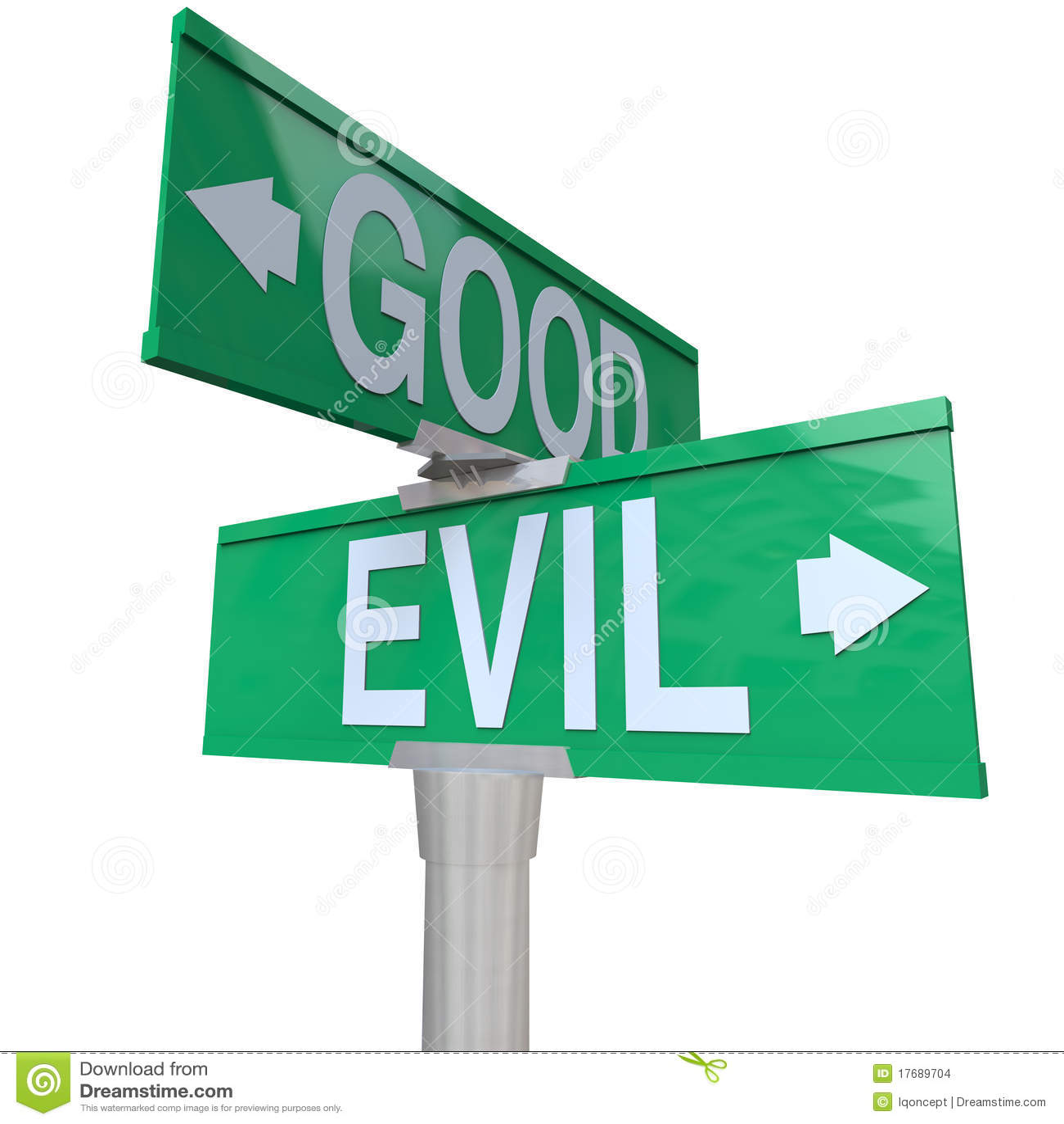 Goed versus Kwaad - het Bidirectionele Teken van de Straat