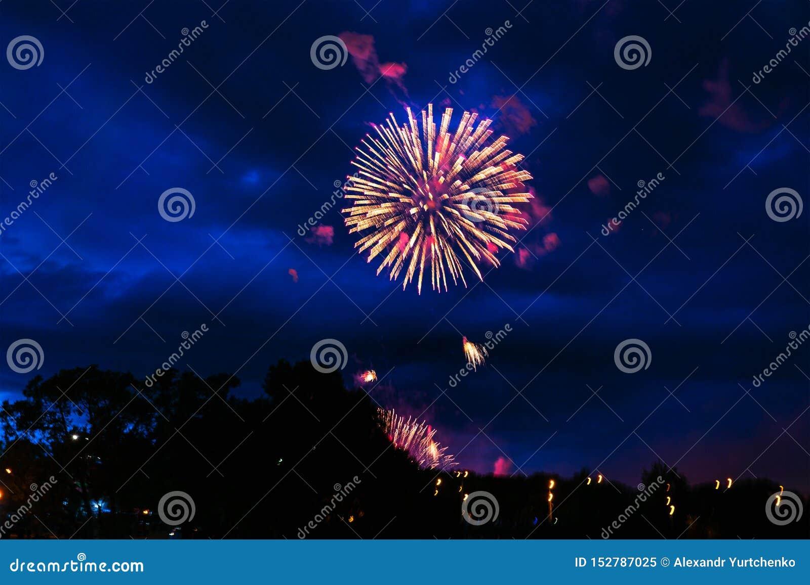 Goedkoop vuurwerk over de stad