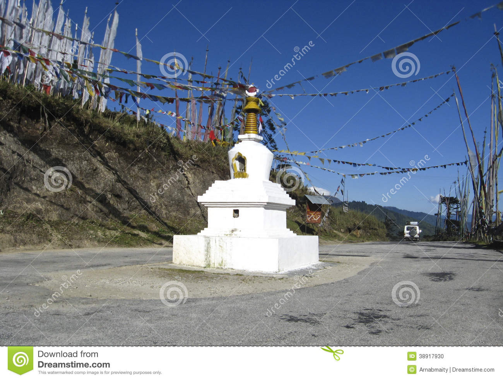 Goempa/Chorten στο κεντρικό Μπουτάν