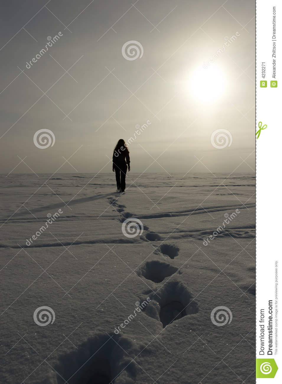 Download Going away stock image. Image of sunlight, loneliness - 4232271