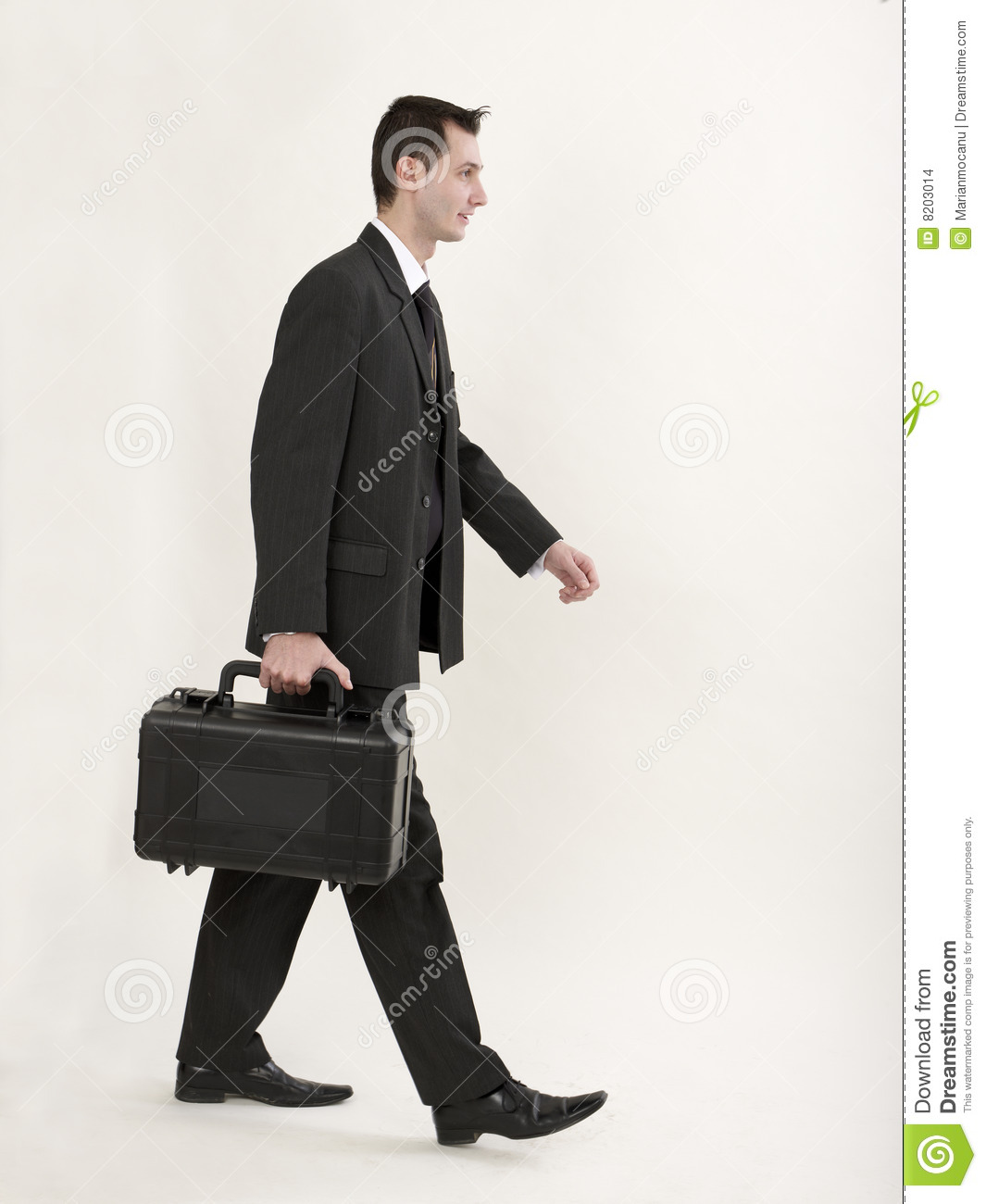 Going To Work Stock Photo Image Of Suitcase