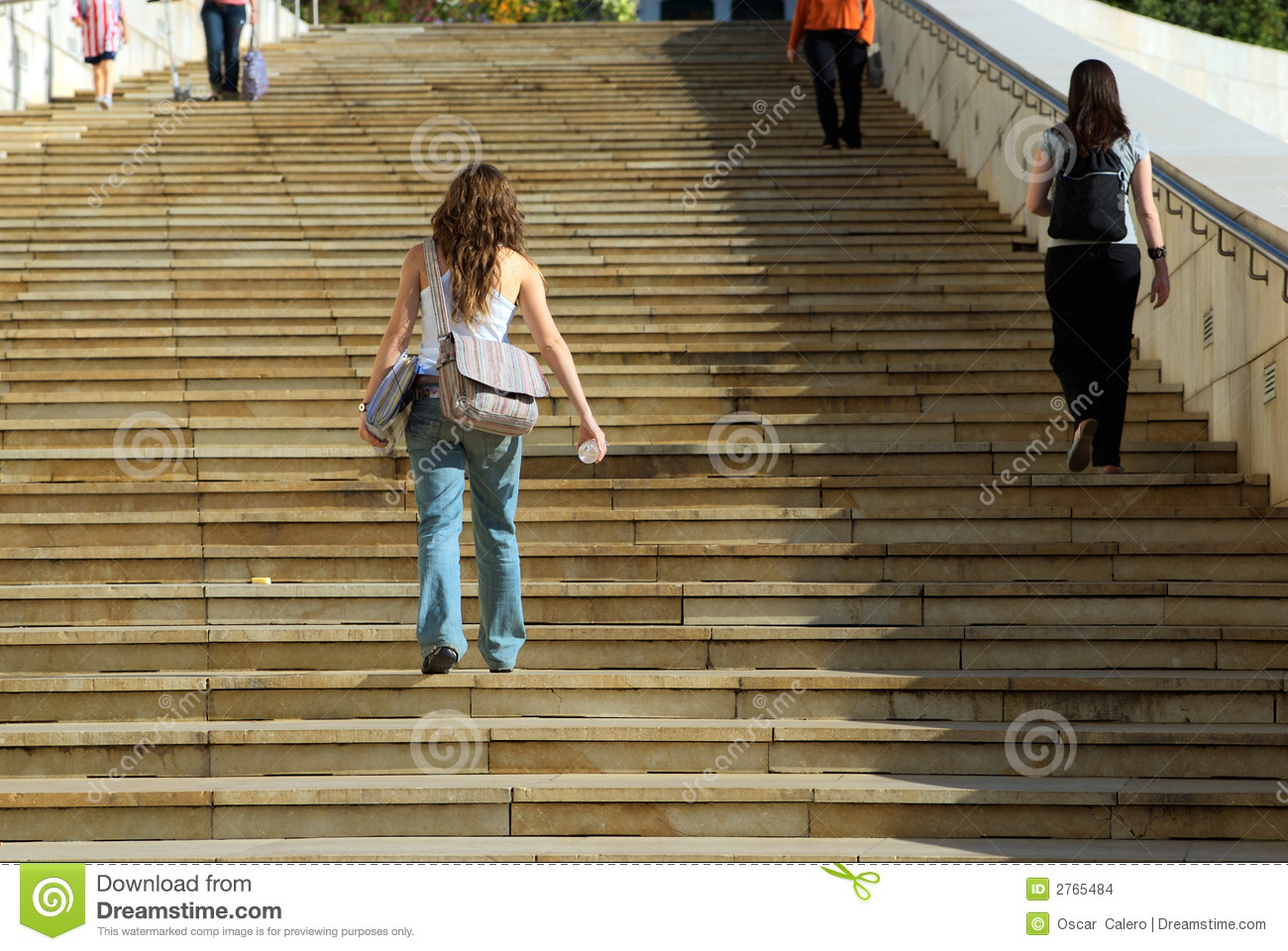 Going Up The Stairs Stock Photo Image Of Stairs Folder