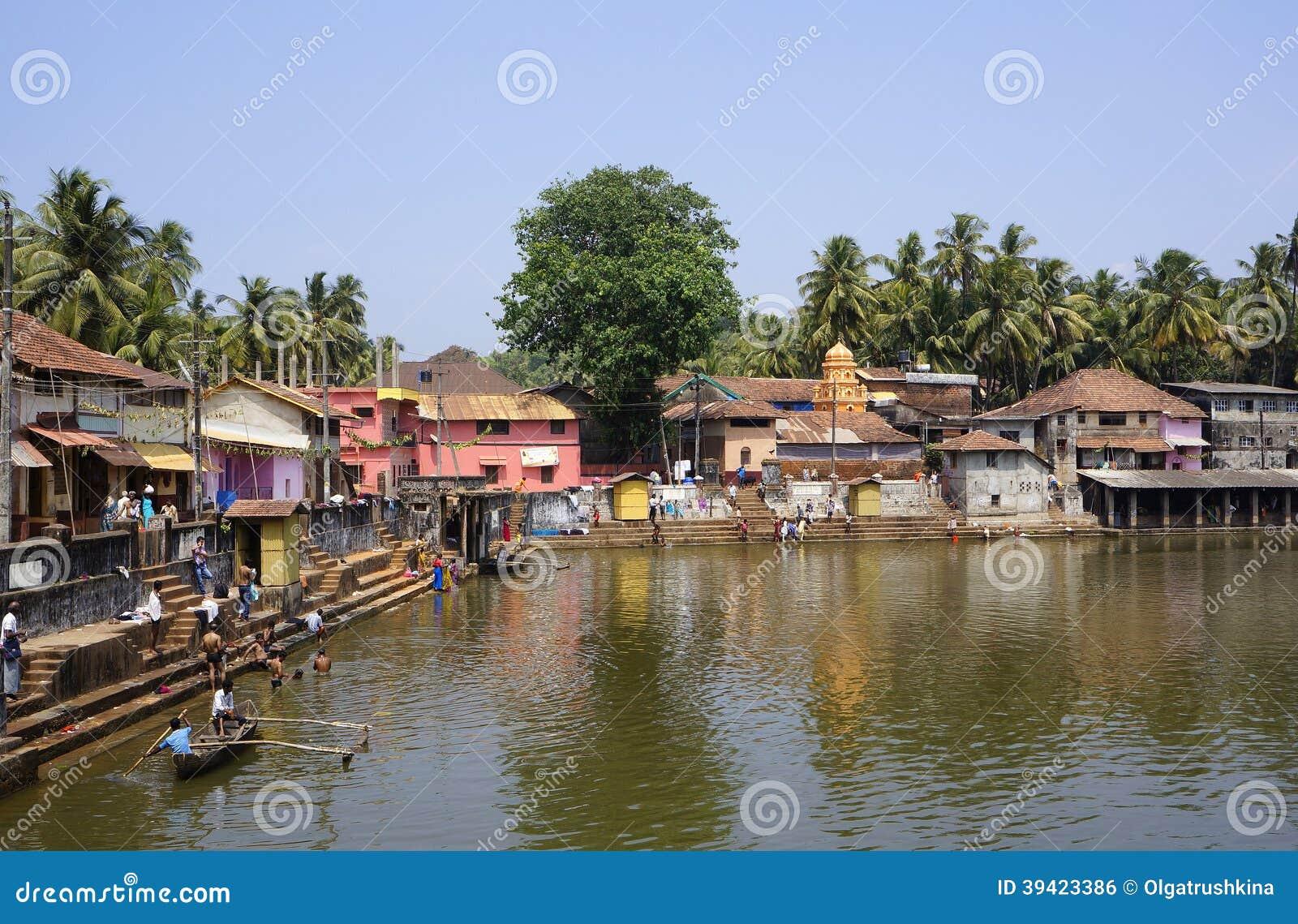 Gokarna India  city pictures gallery : ... in Gokarna, february 27, 2014, in Gokarna, Karnataka, India