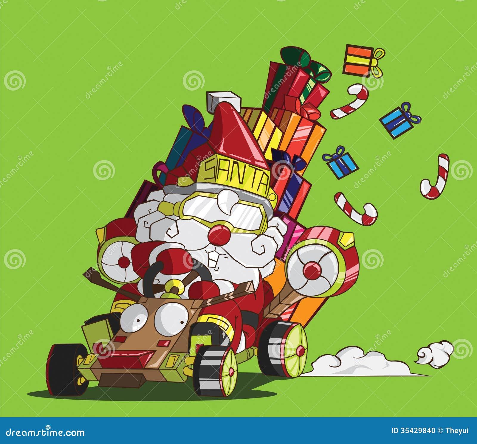 Santa Claus Karting