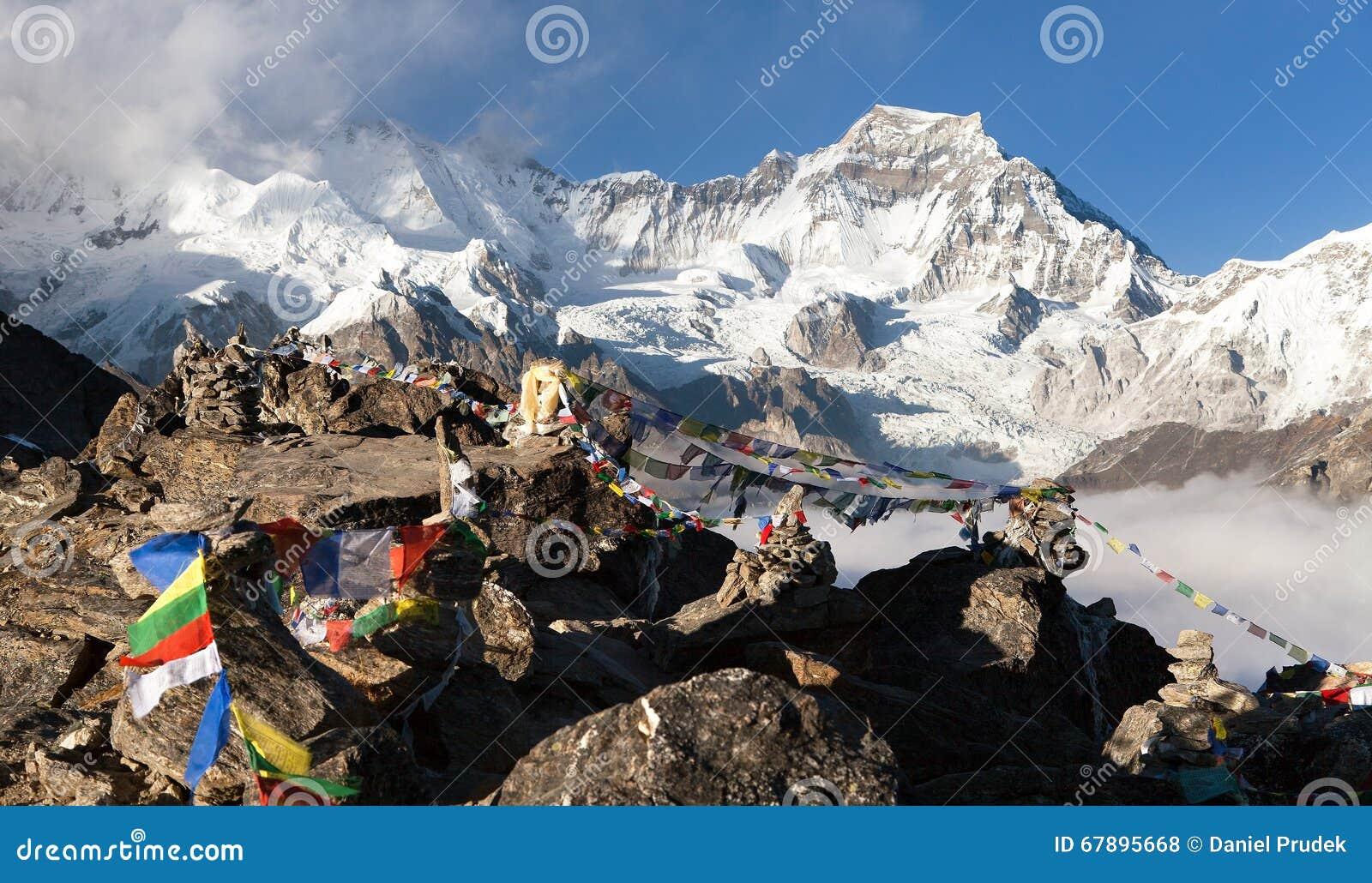 从Gokyo登上格重康峰的Ri的看法7952m