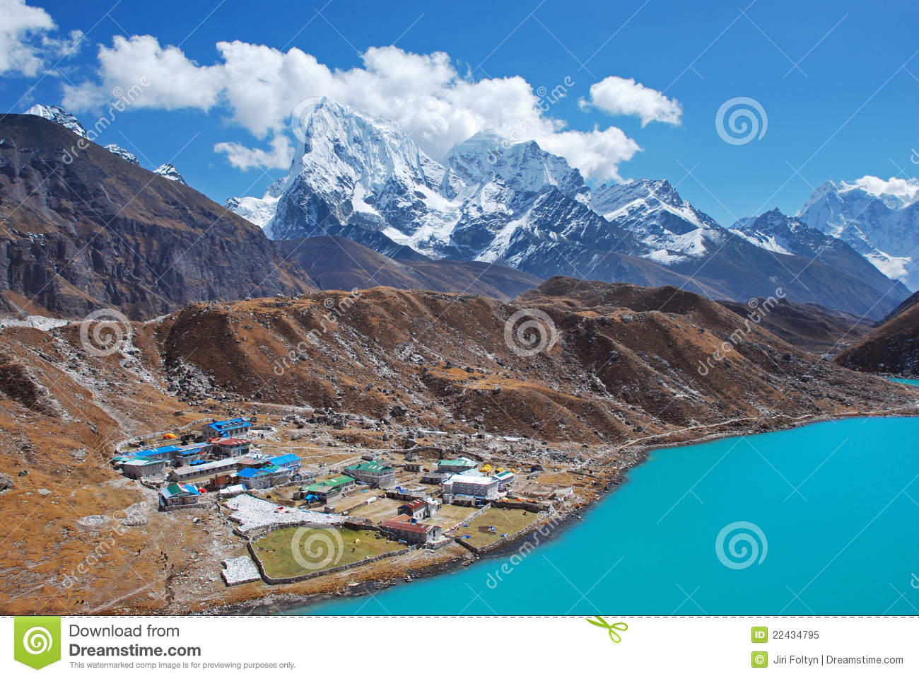 gokyo village  himalayas  nepal royalty free stock photo clip art sounds free clip art sounds for microsoft powerpoint