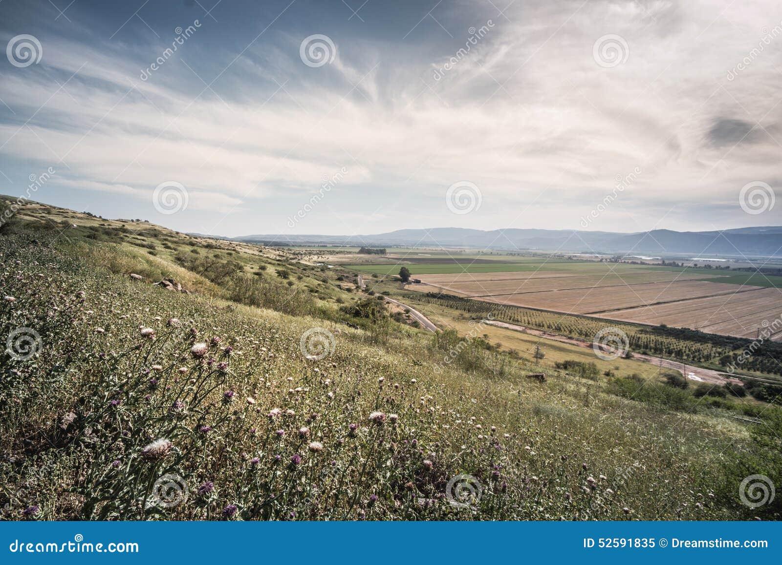 Golan Heights-Landschaft Israel