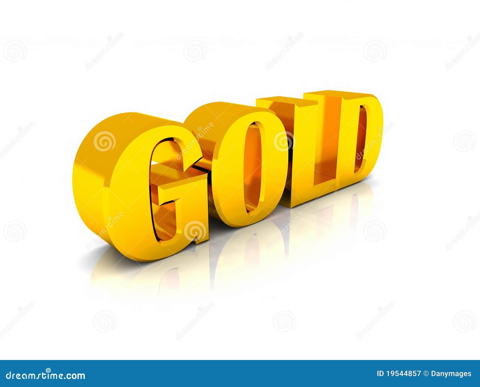 gold stock illustration illustration of precious text 19544857