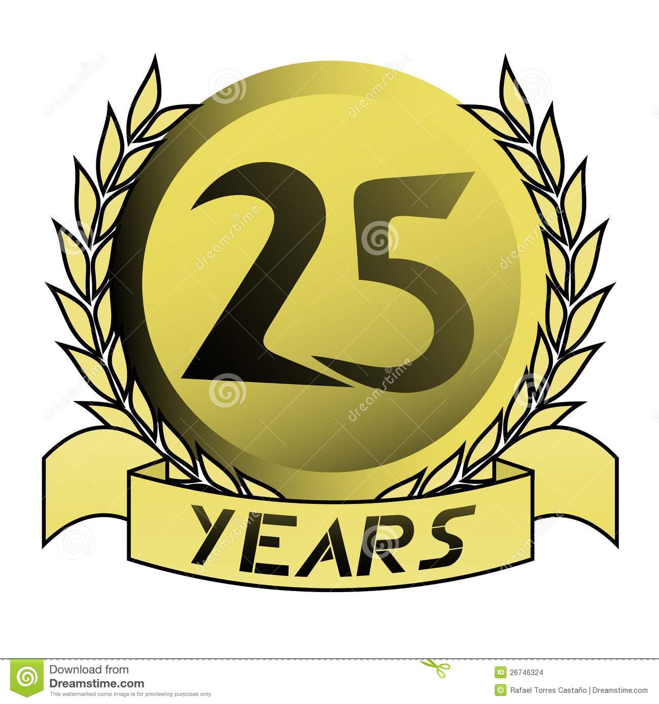 gold 25 years stock vector illustration of years wallpaper 26746324