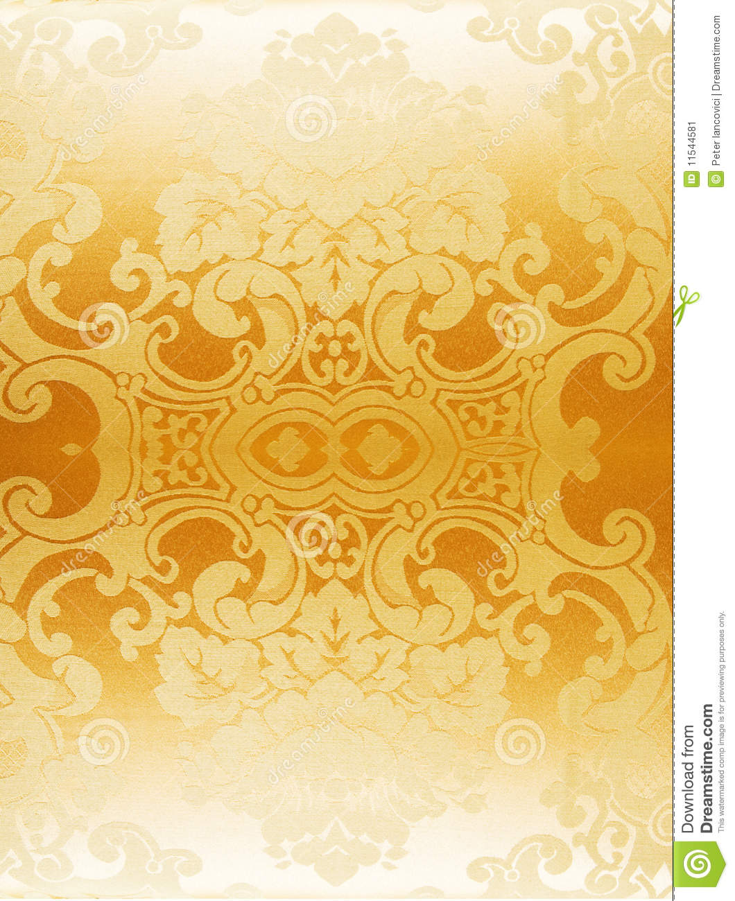 Gold Abstract Wallpaper Stock Image Of Flower