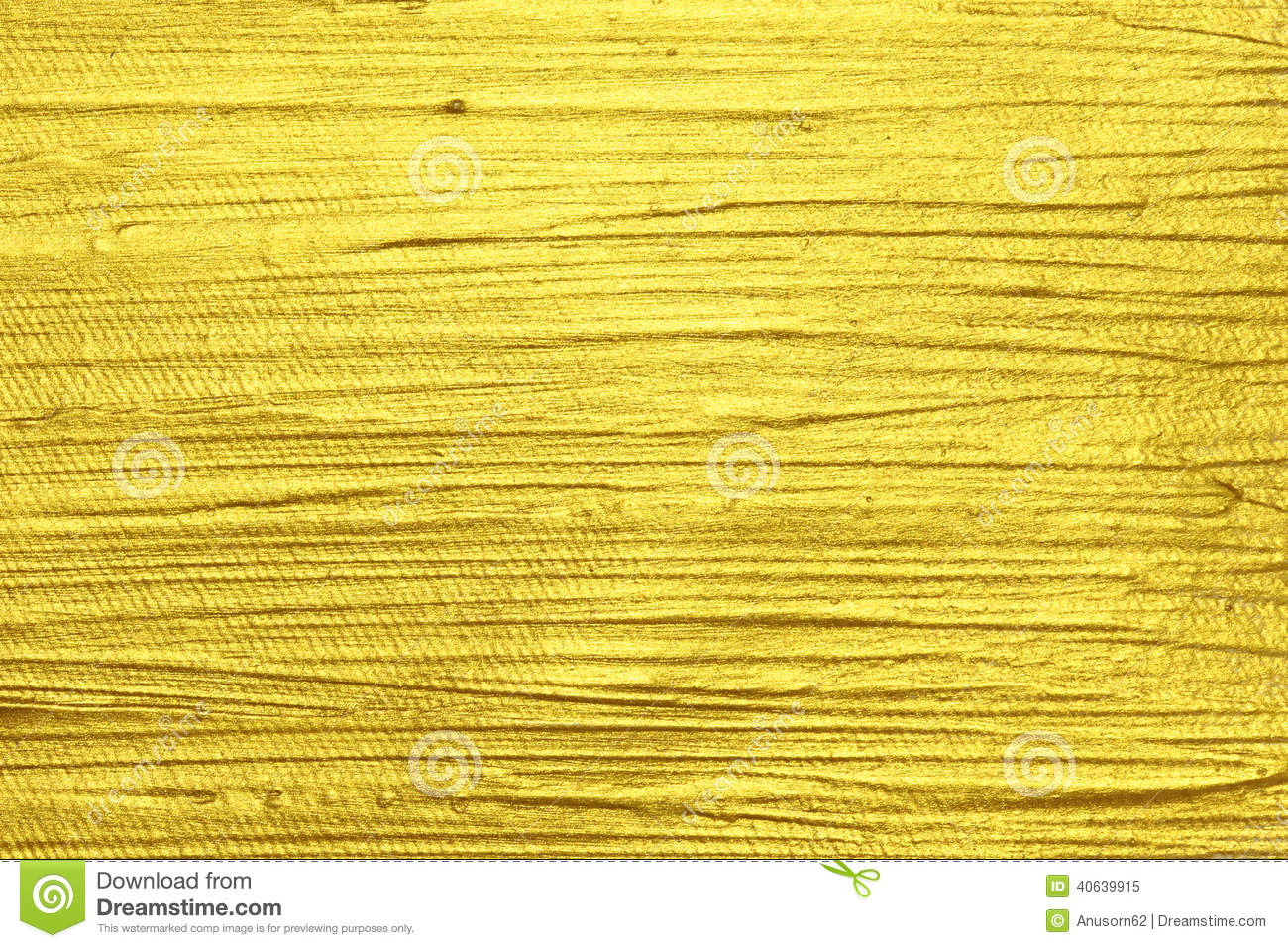 Gold Acrylic Textured Painting Stock Image Image Of Frame Pale 40639915