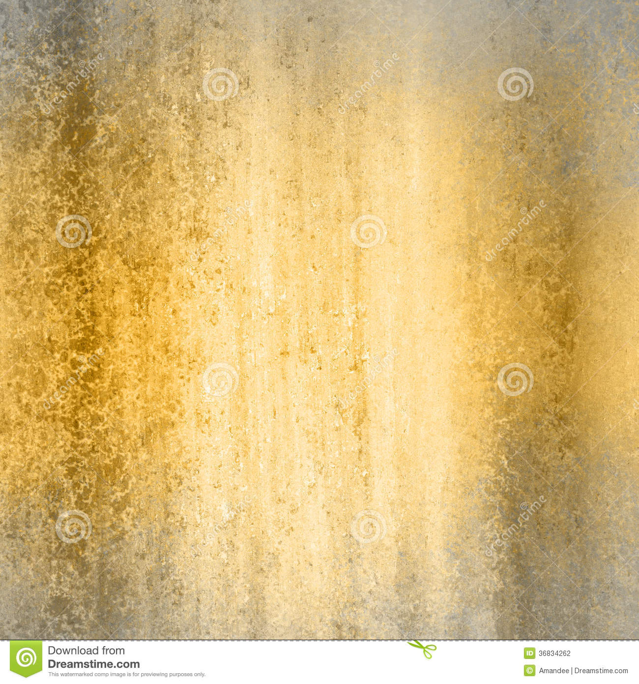 Gold Background With Gray Frame Stock Photo Image Of Backdrop