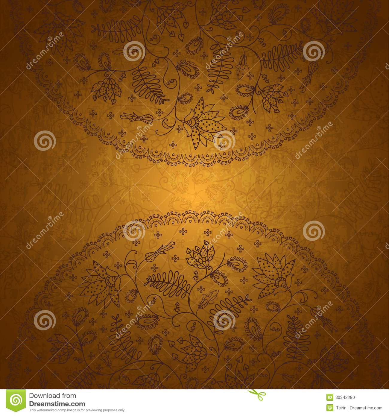 gold background for messages stock vector illustration of ornament