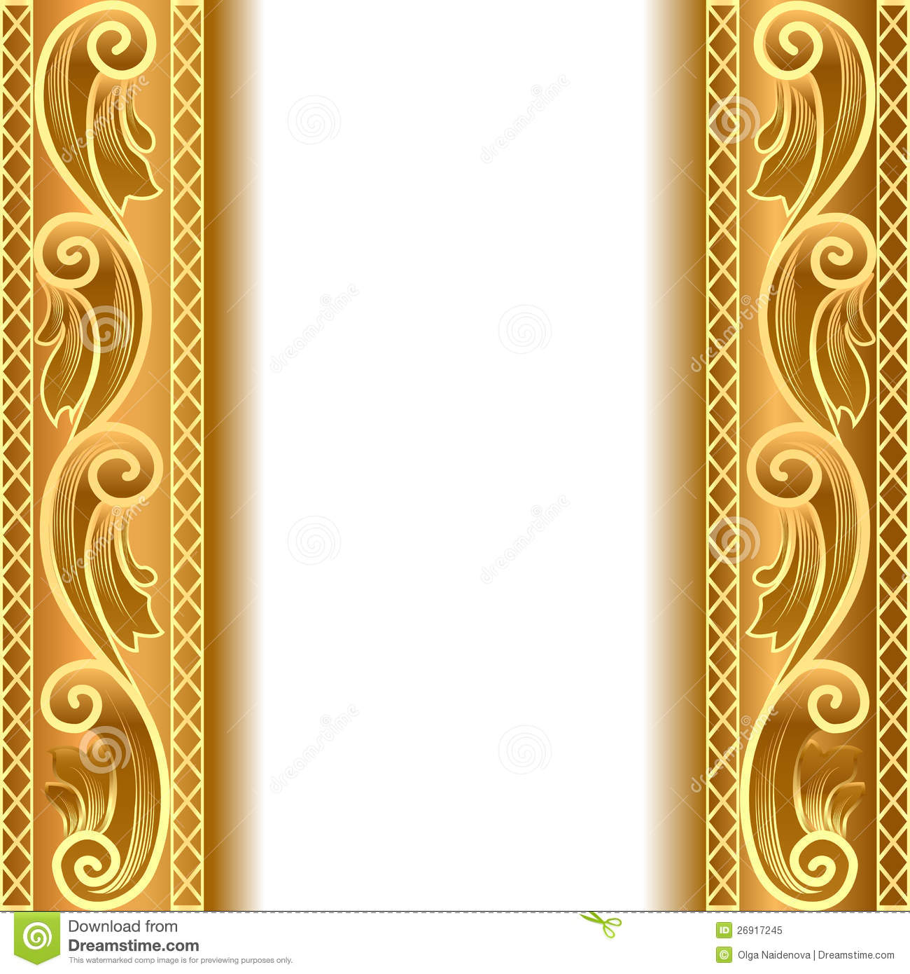 a gold background with a strip with a gold stock illustration image 26917245. Black Bedroom Furniture Sets. Home Design Ideas