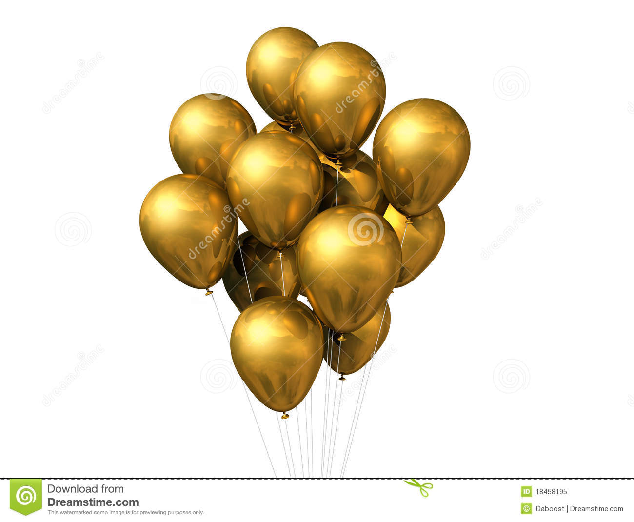 Gold Balloons Isolated On White Royalty Free Stock Photo - Image ... Superhero Flying Vector