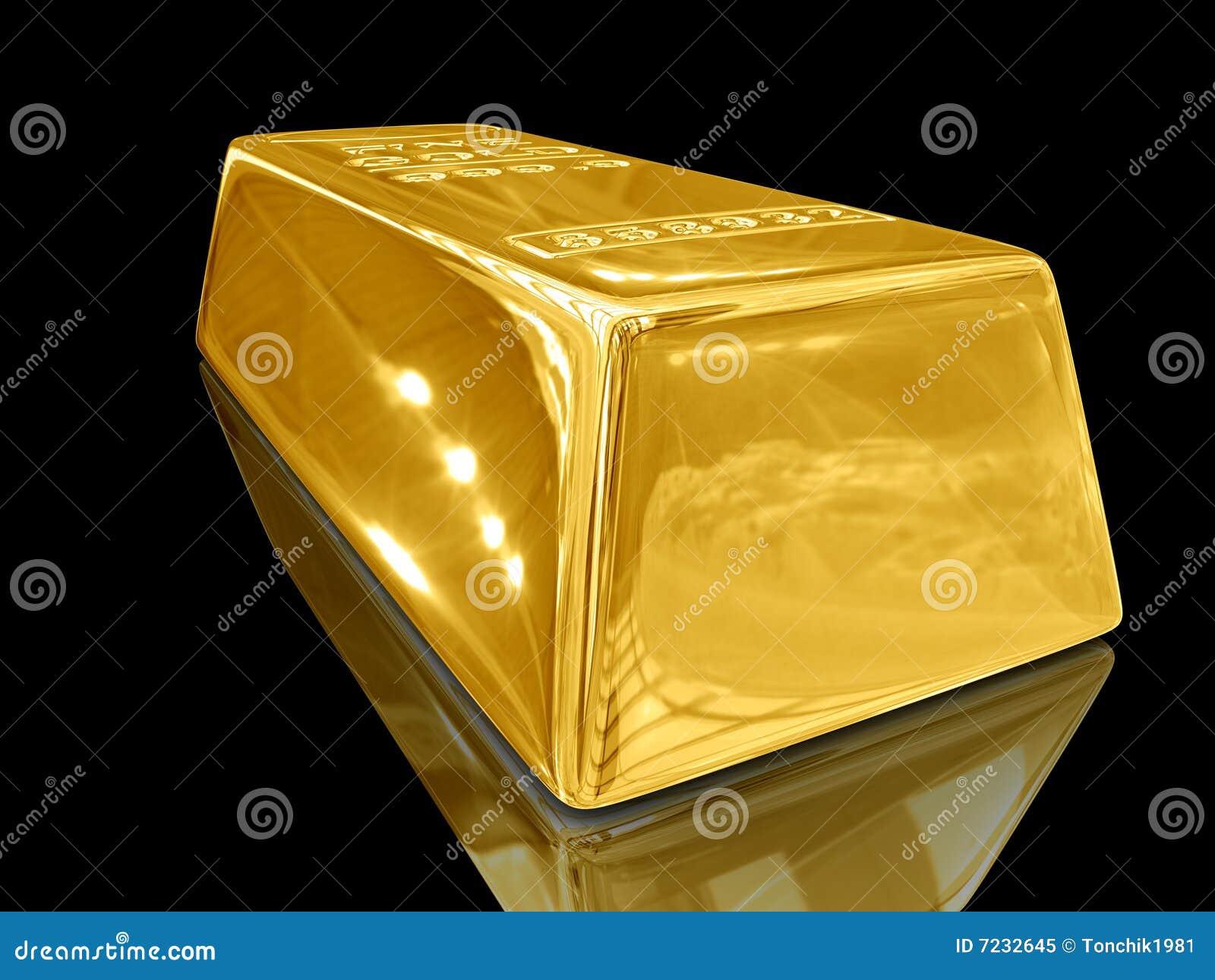gold bar black background - photo #34