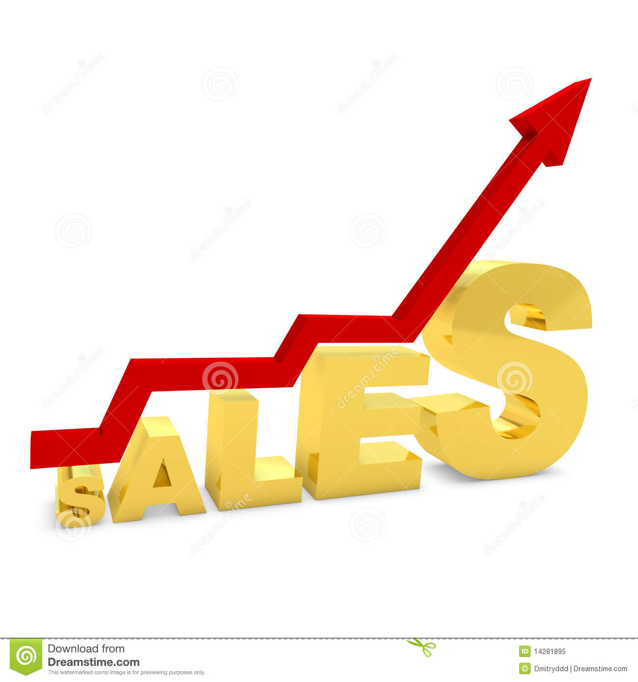 gold bar graph showing the growth of sales royalty free stock photo