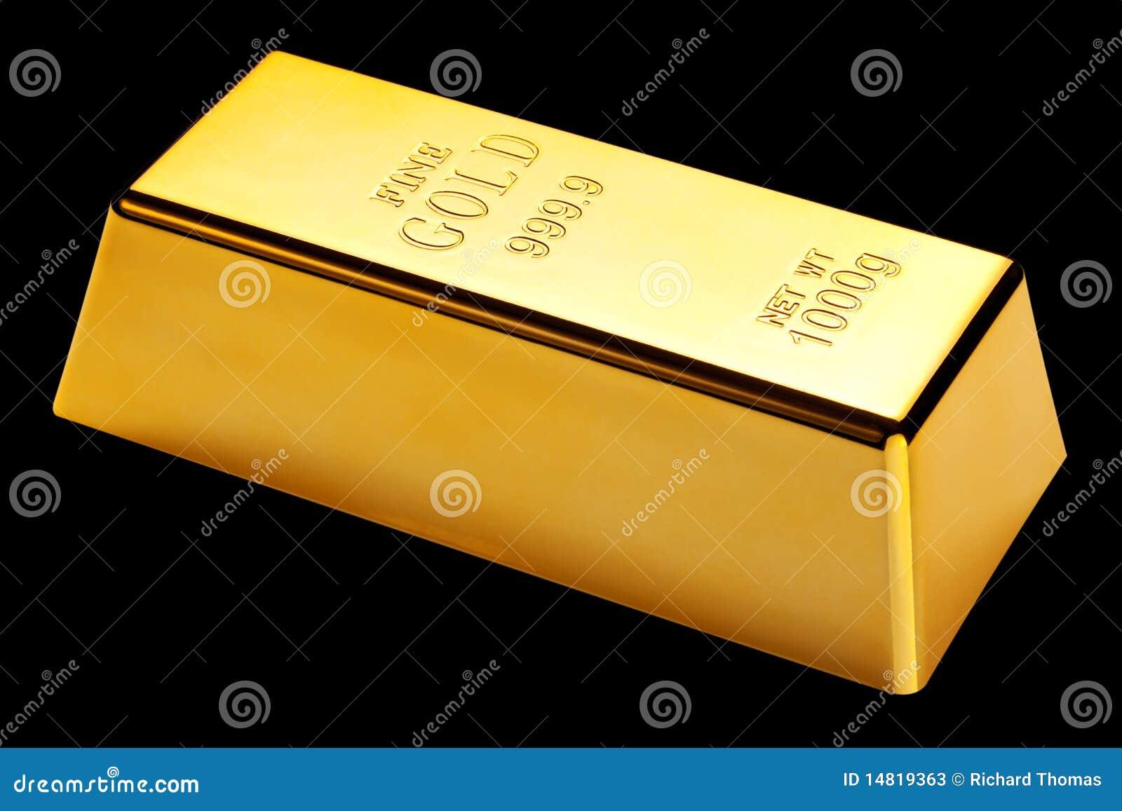 gold bar black background - photo #5