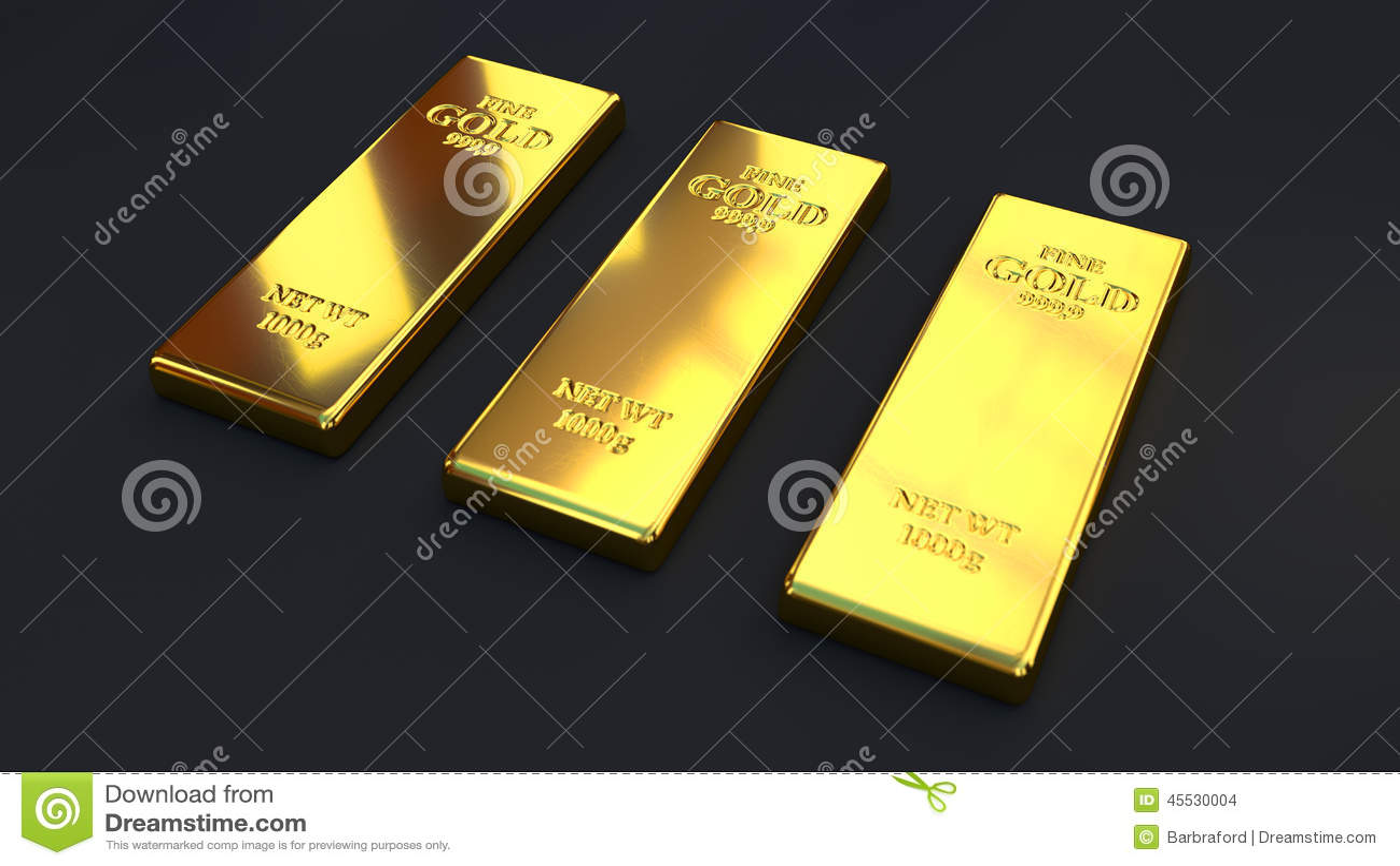 gold bar black background - photo #12