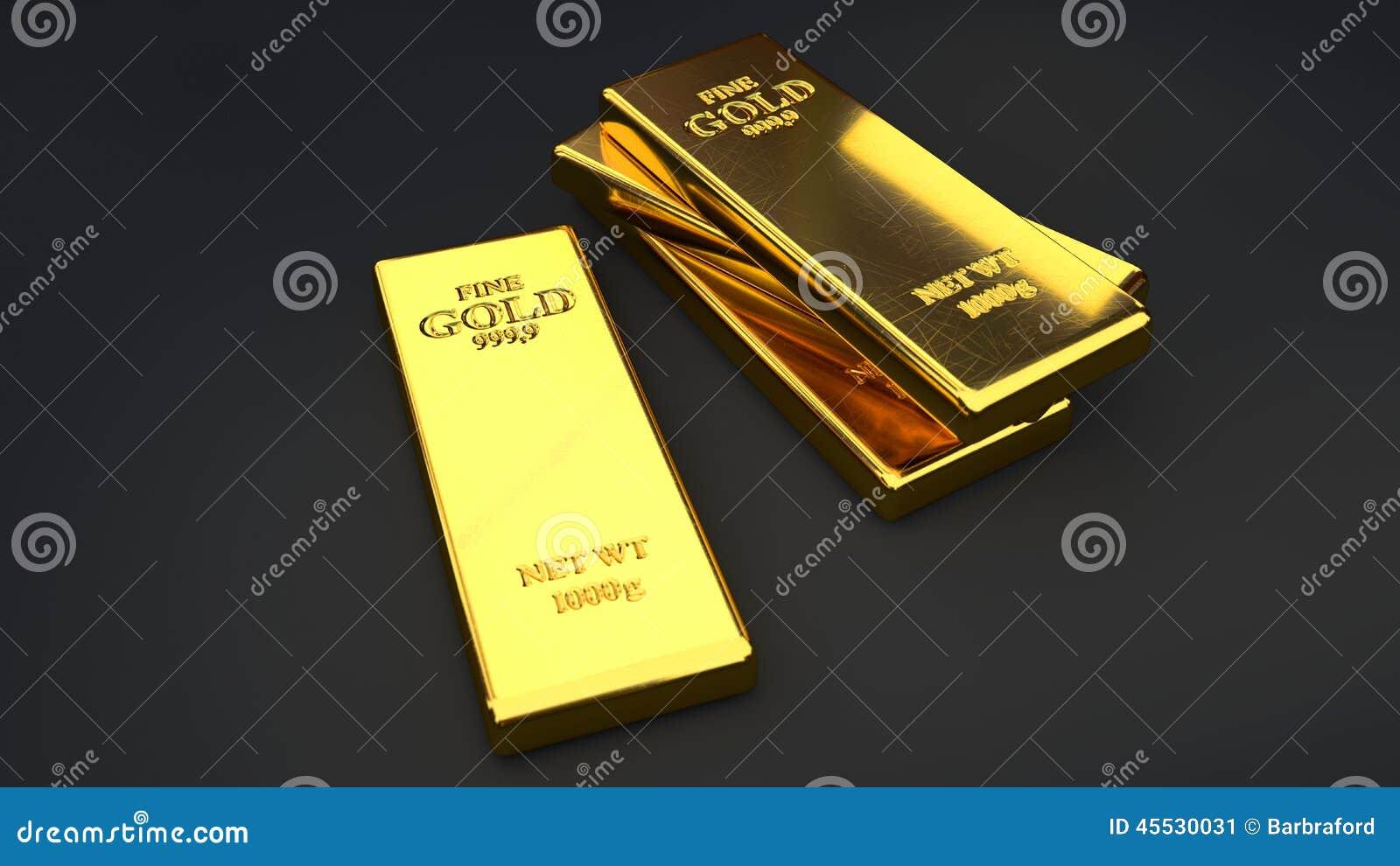 gold bar black background - photo #27