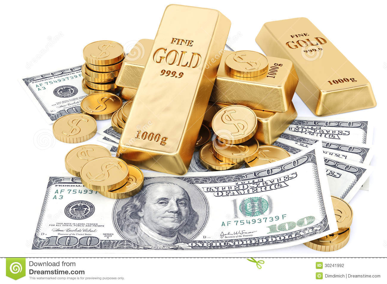 Bullion Stock Photography Image 30241992
