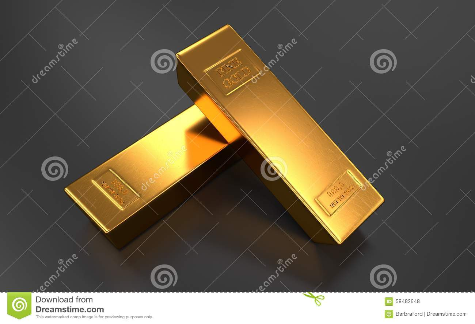 gold bar black background - photo #22