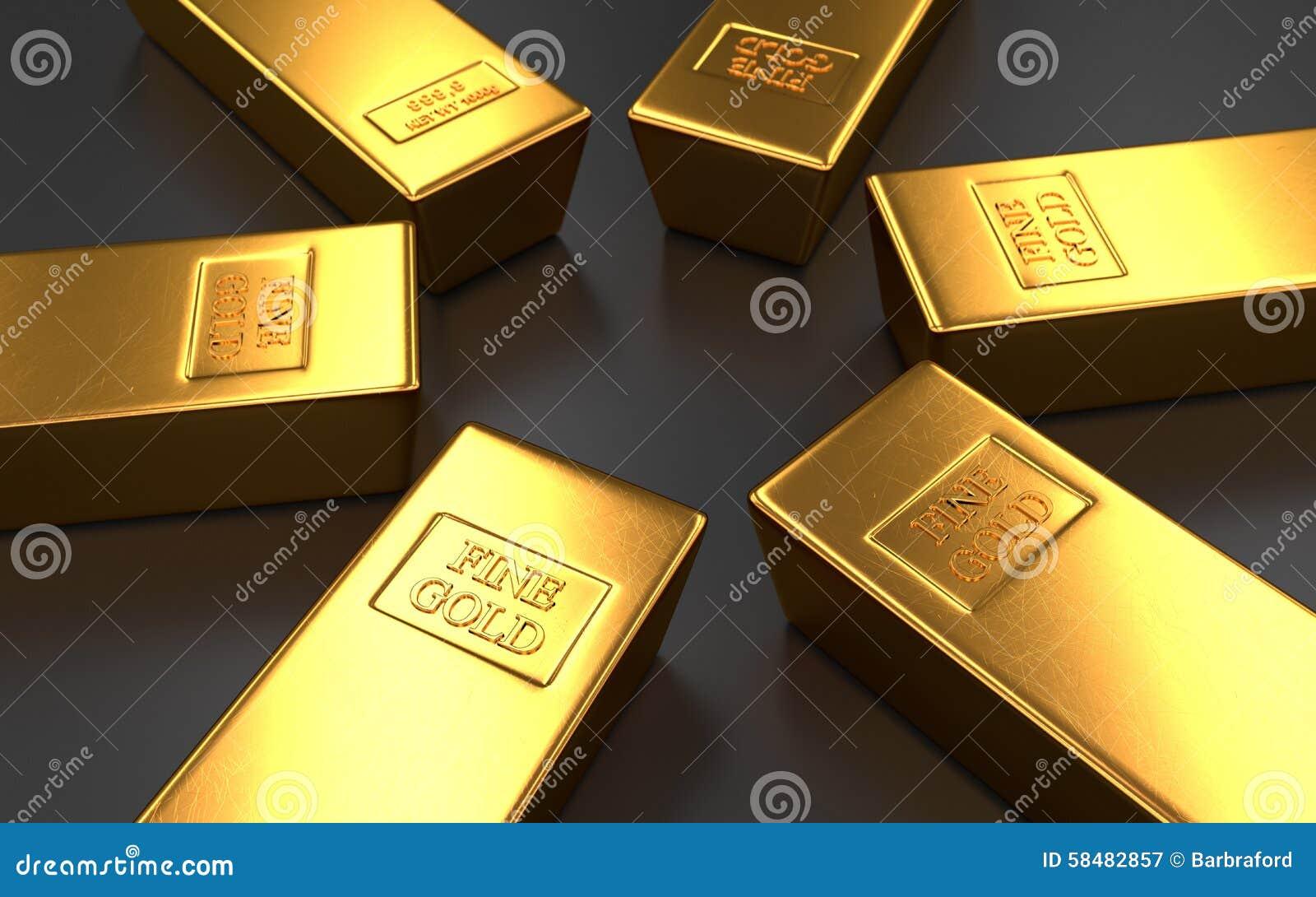 gold bar black background - photo #49