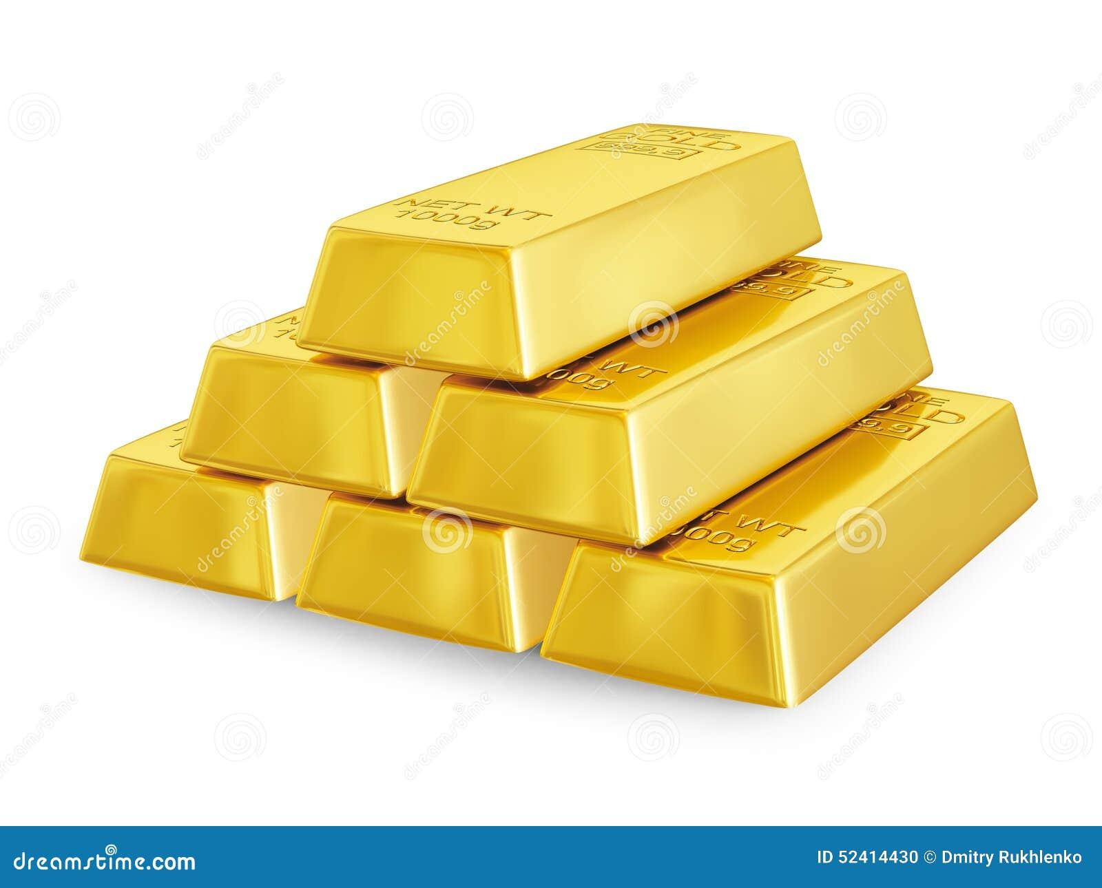 Download Gold Bars Pyramid Stock Illustration Of Financing
