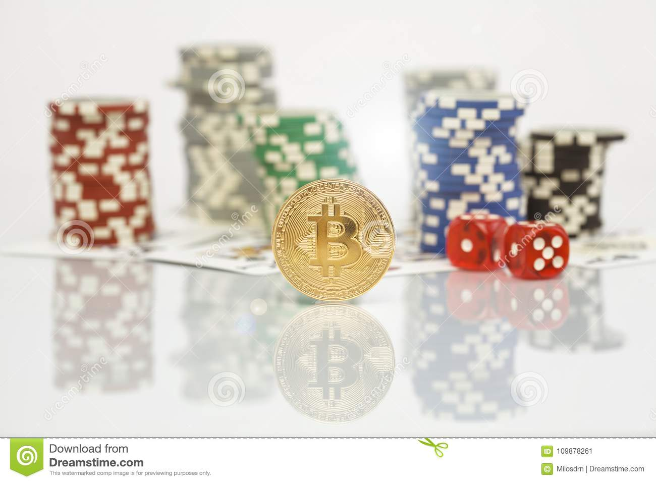 cryptocurrency poker chips