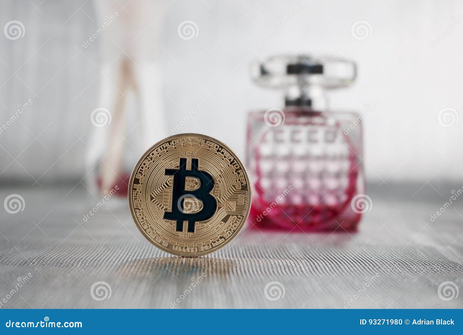 Gold-bitcoin und -parfüm