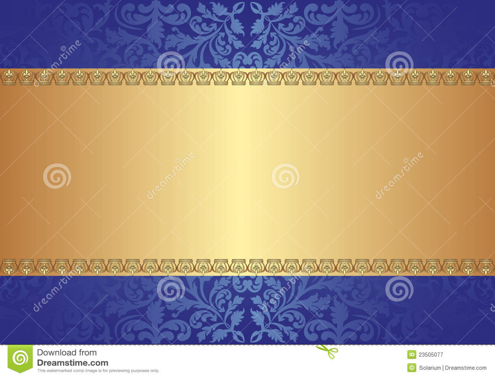 gold blue background stock vector illustration of metal 23505077
