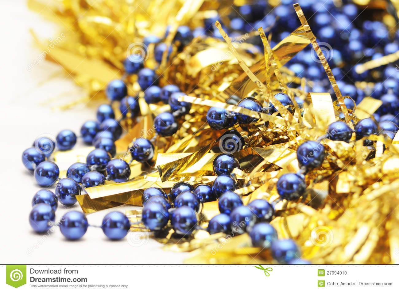 Gold and blue christmas stock photo image 27994010 for Blue and gold christmas