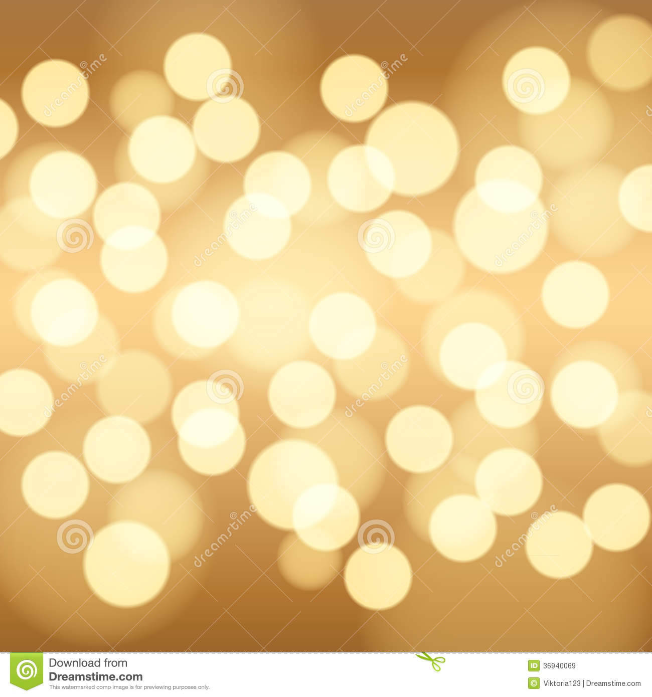Gold Bokeh Background. Royalty Free Stock Images - Image ...