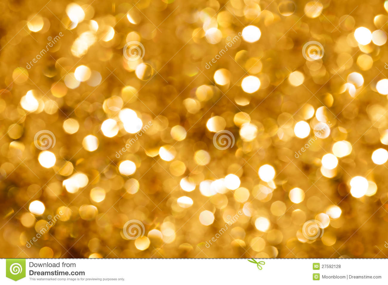 Gold Bokeh Light Royalty Free Stock Photos Image 27592128