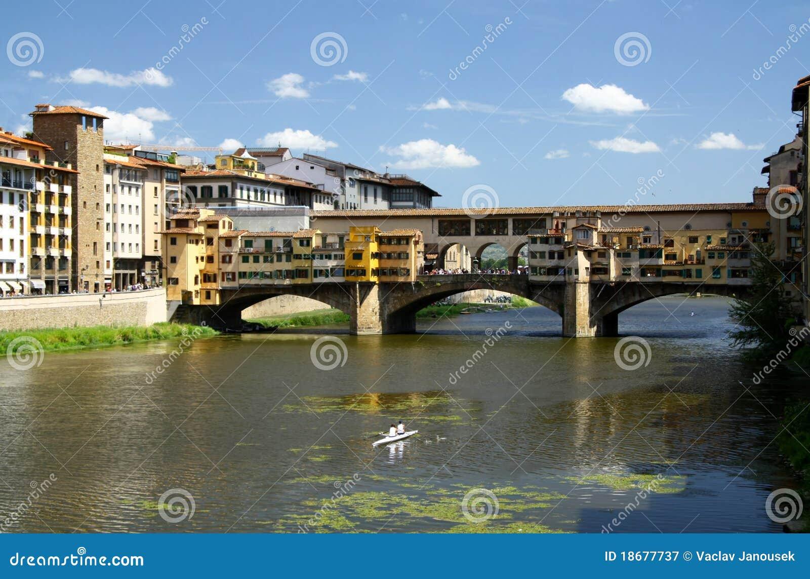 Gold bridge in Firenze