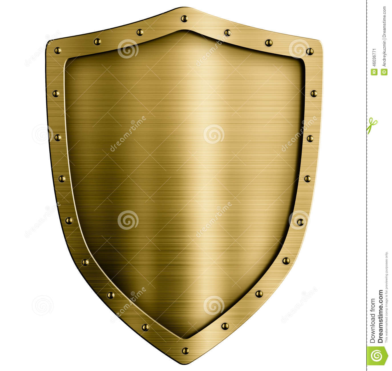 gold or bronze metal medieval shield isolated on stock medieval clipart images free medieval clipart borders