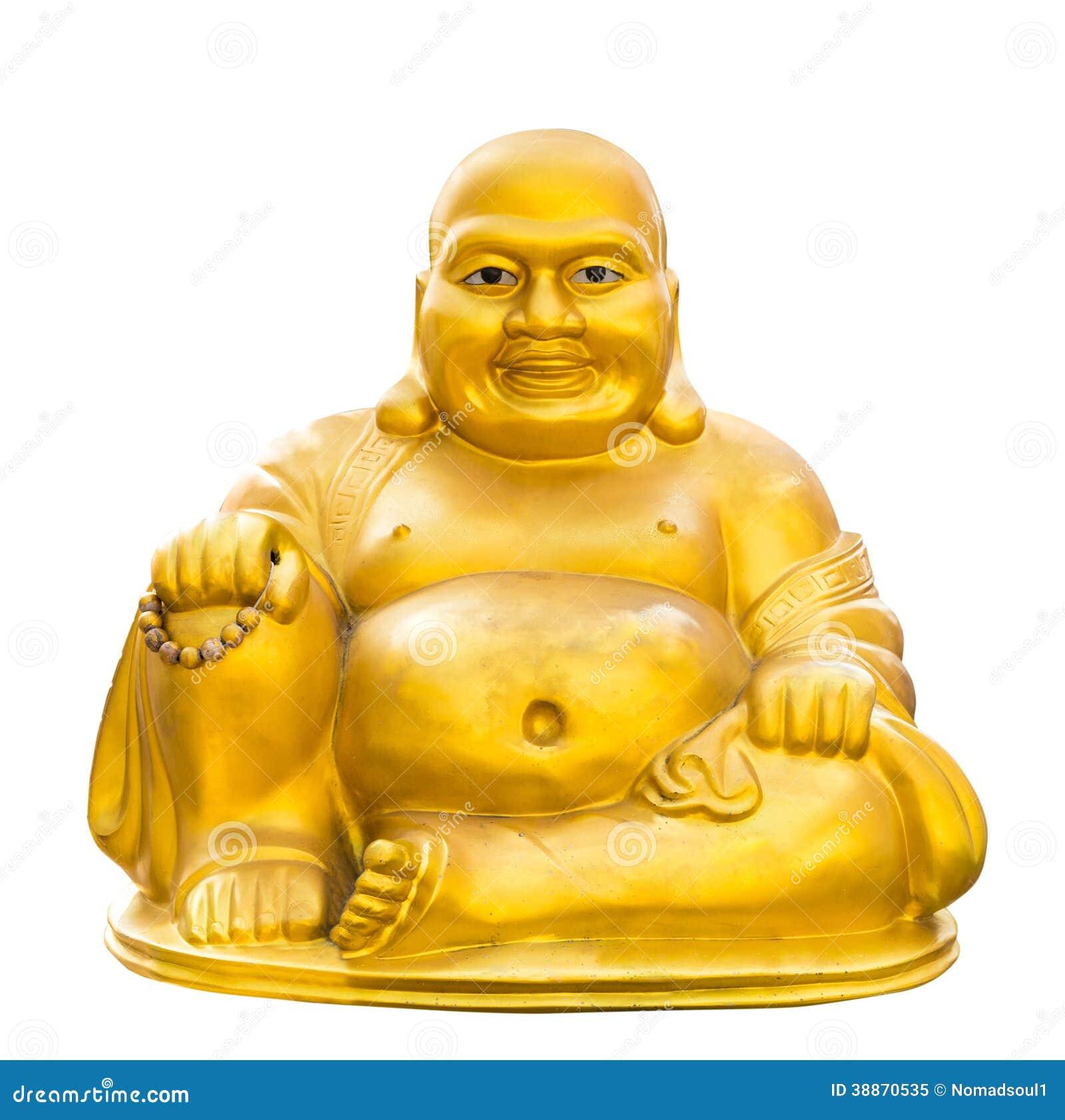 Gold Buddha Isolated Stock Photo Image 38870535