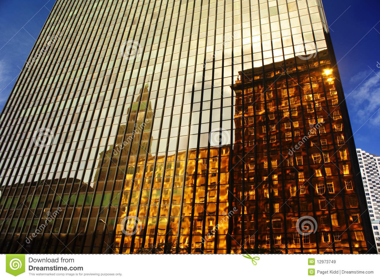 Gold Building Hartford Ct Royalty Free Stock Images