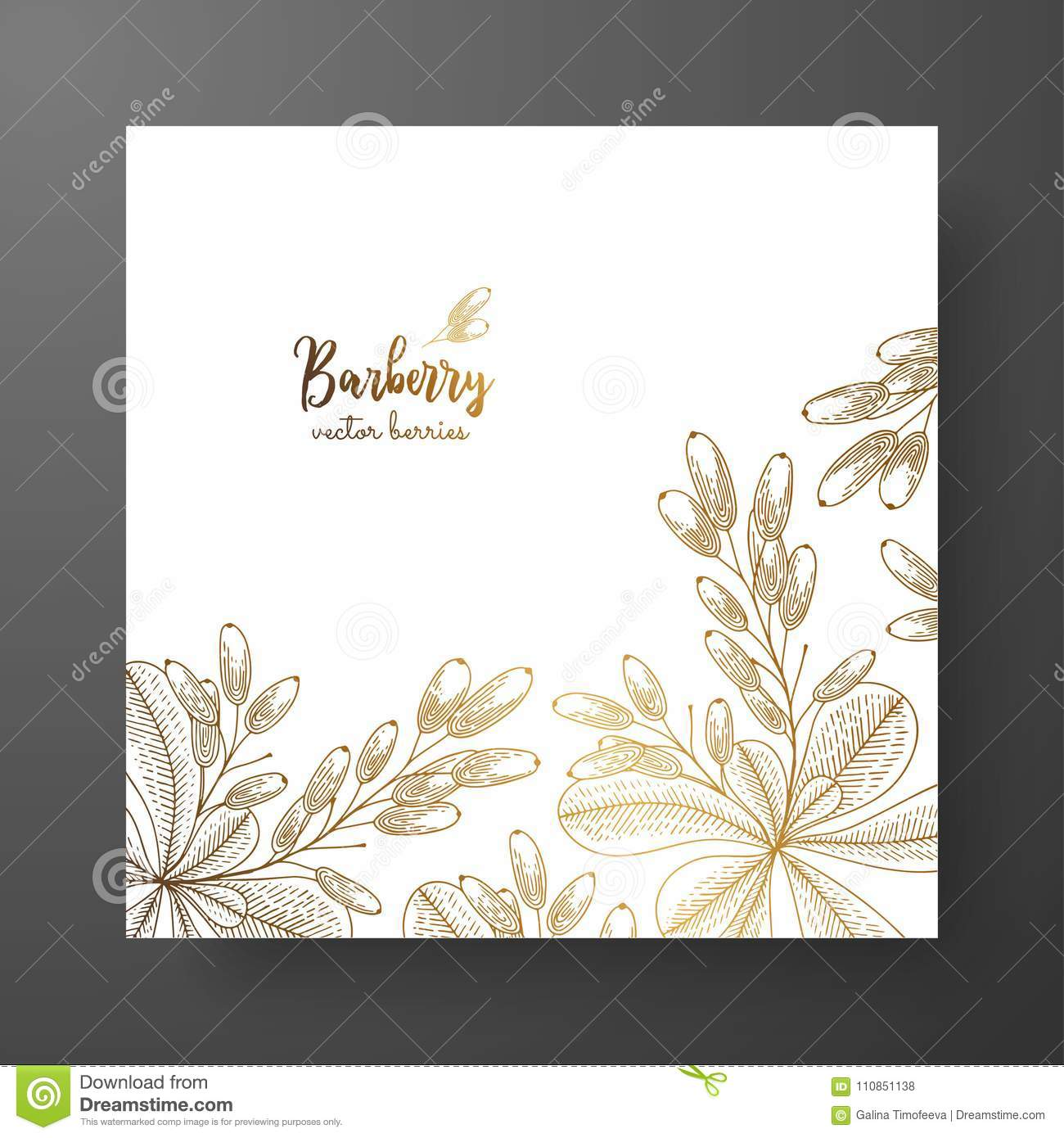 Gold Card Template For Invitations Greeting Cards Postcards