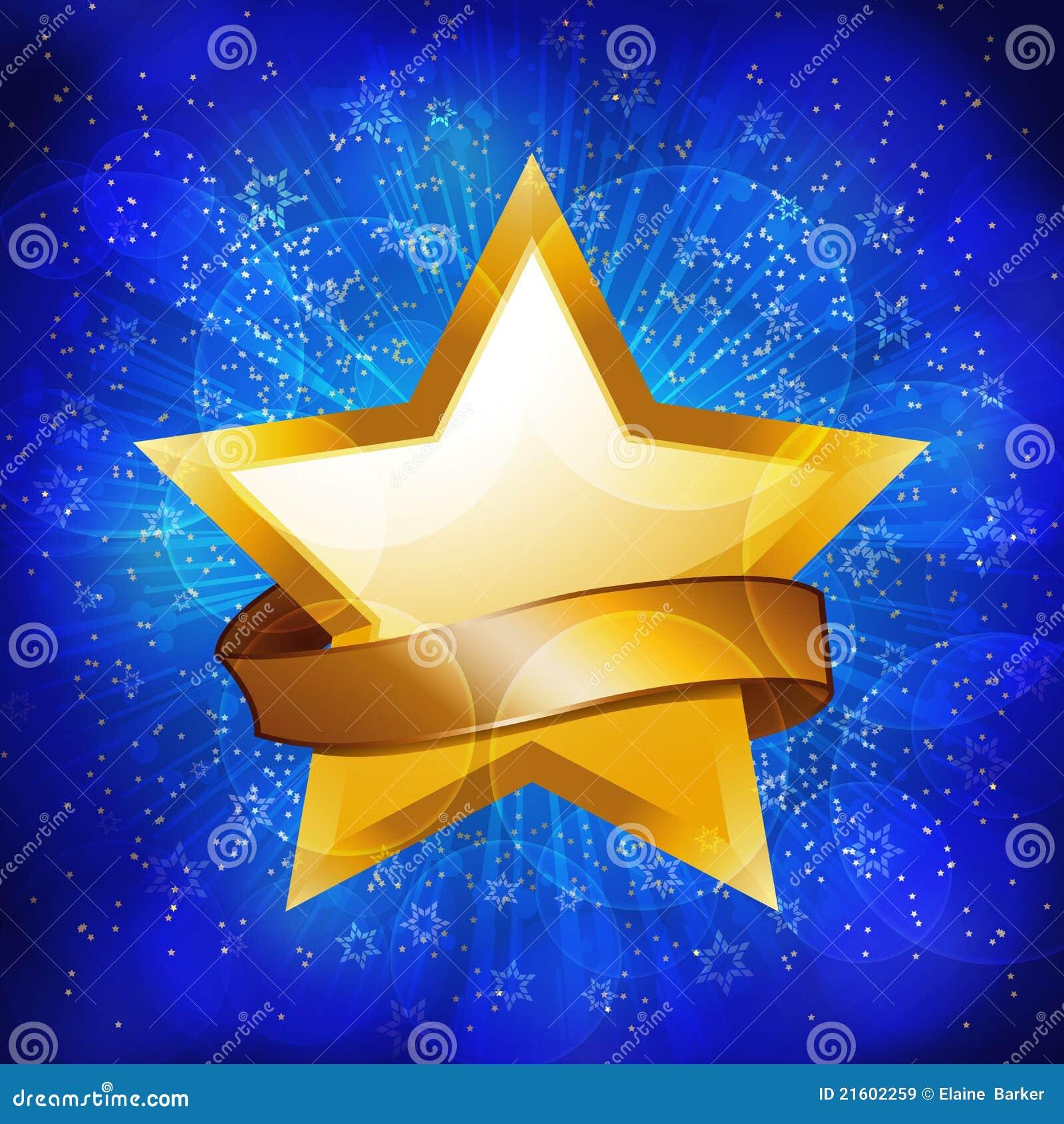 gold celebration star background royalty free stock images