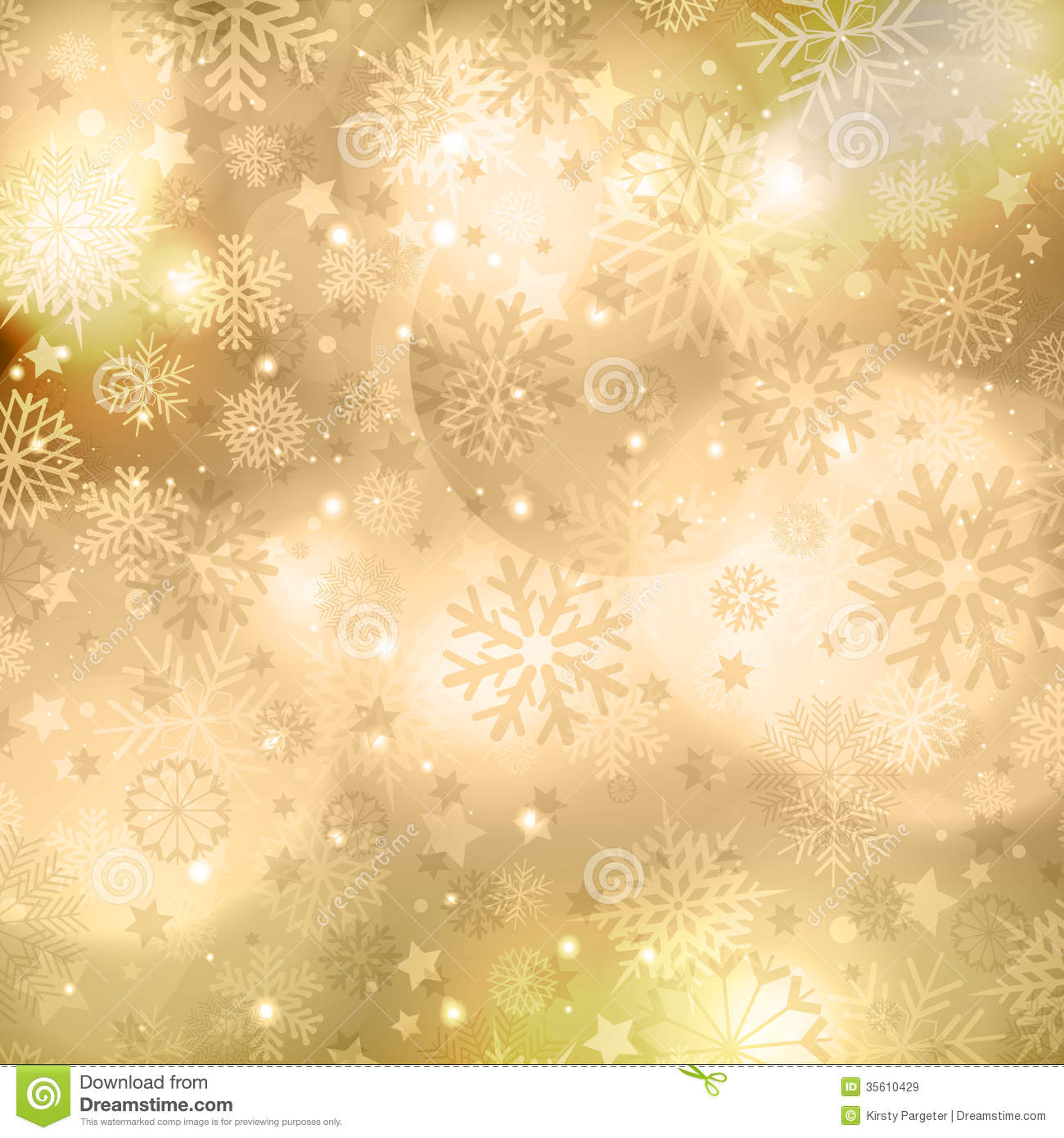 Red and gold christmas decorations wallpaper - Gold Christmas Background Royalty Free Stock Images