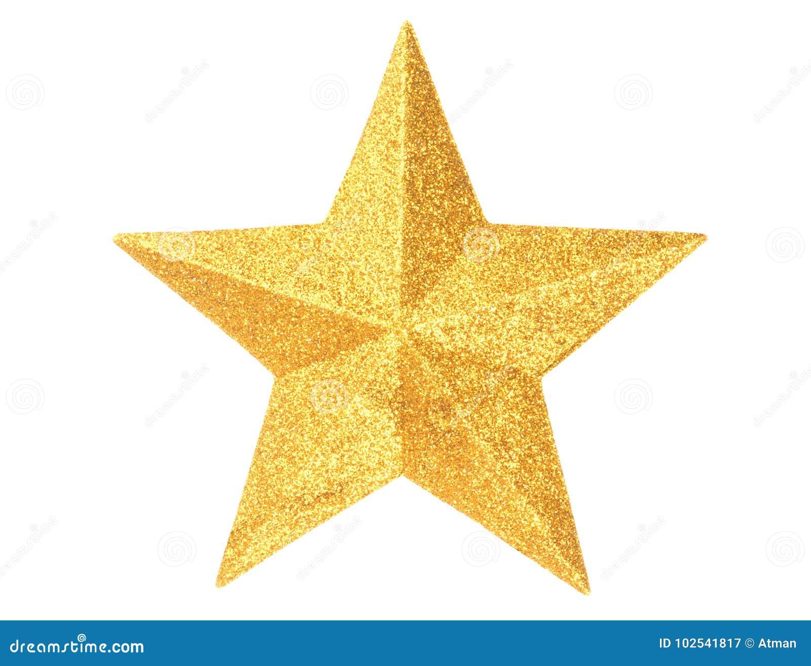 gold christmas star on white stock image image of xmas star