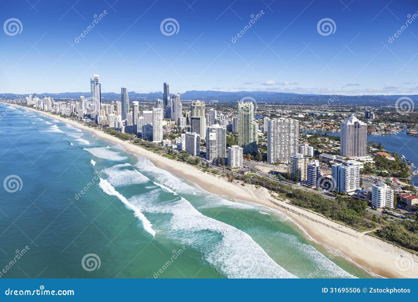 Gold Coast Queensland Australia Royalty Free Stock Image