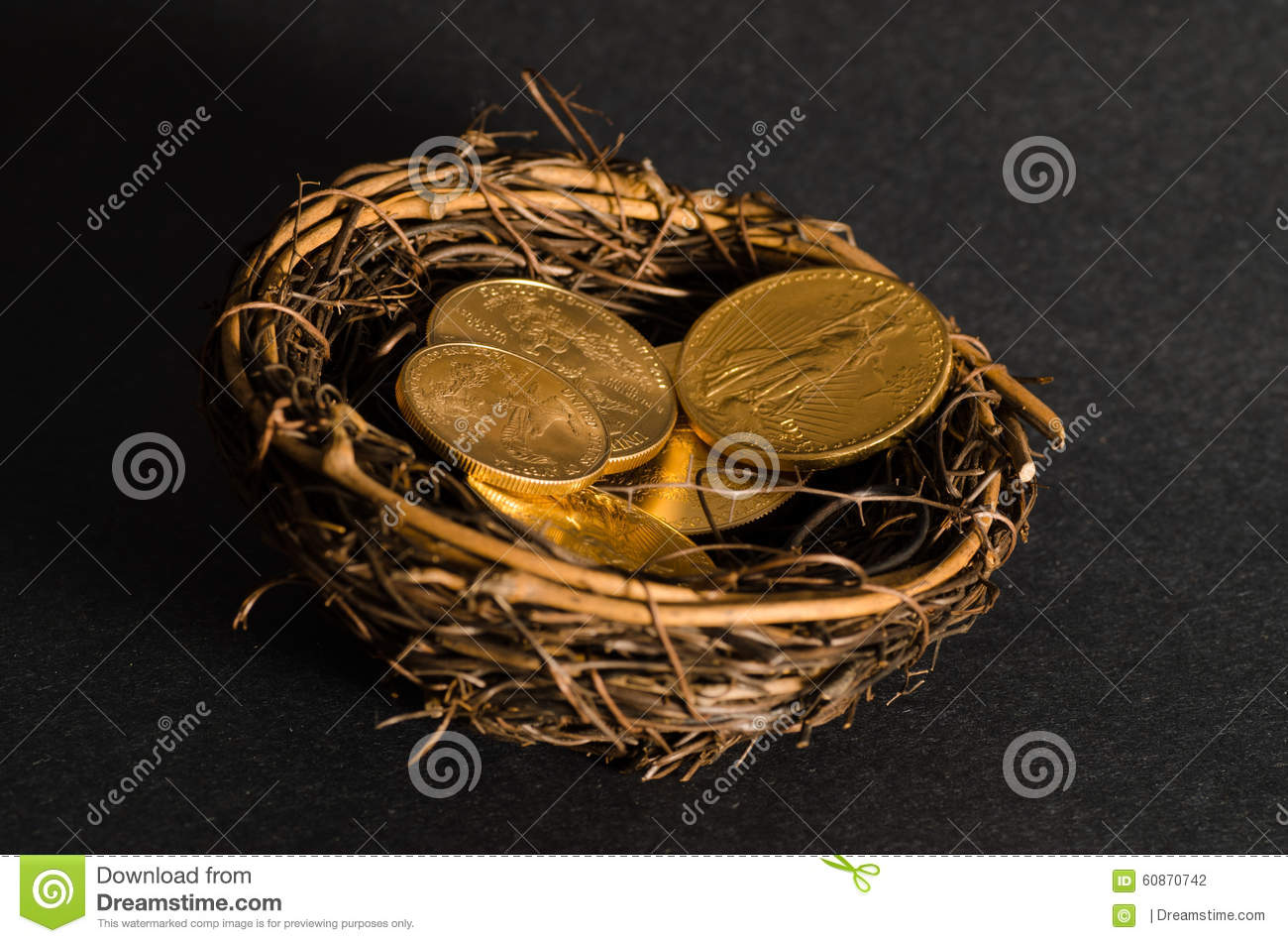 gold coins black background - photo #20