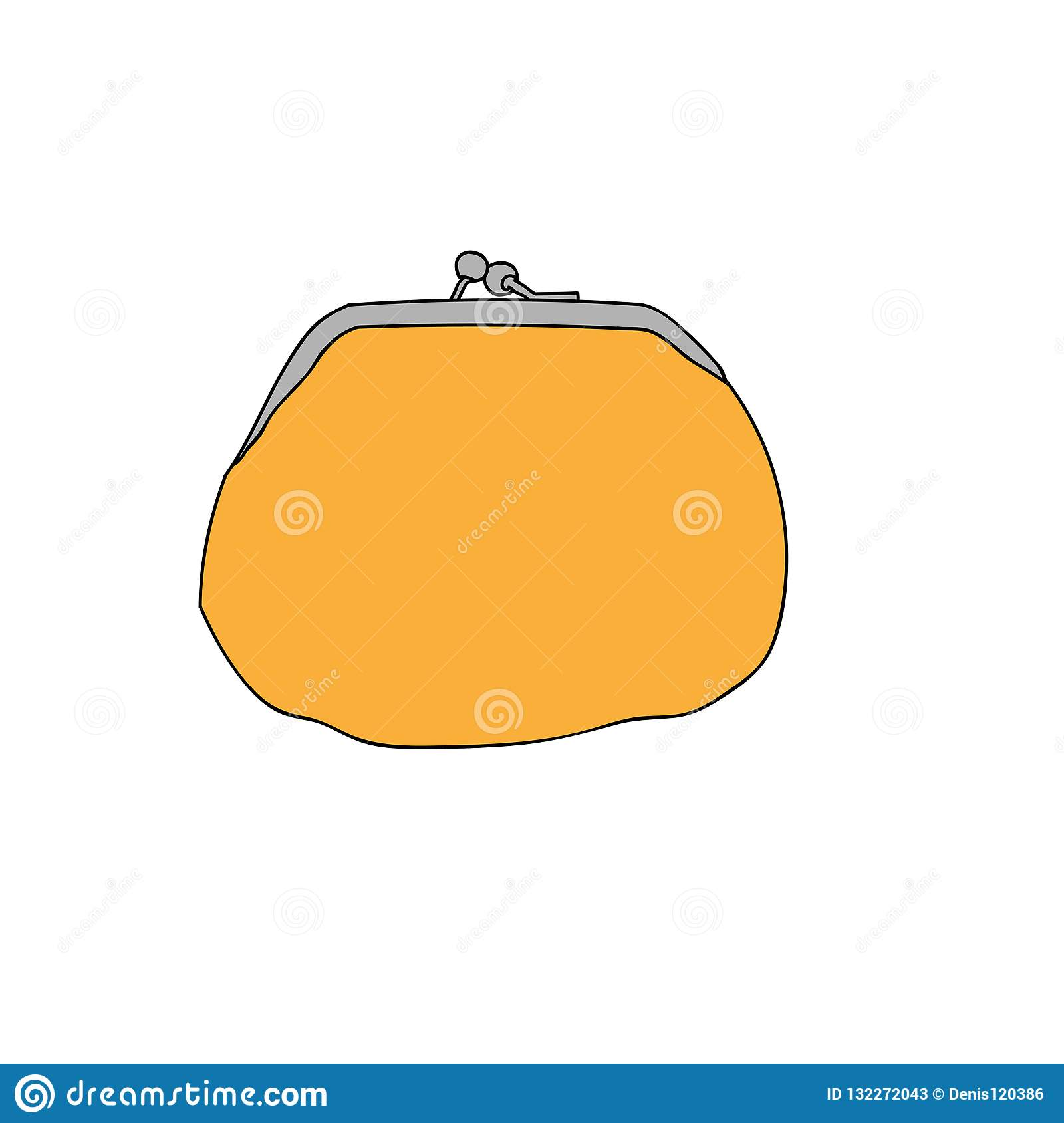 Wallet for money vector image