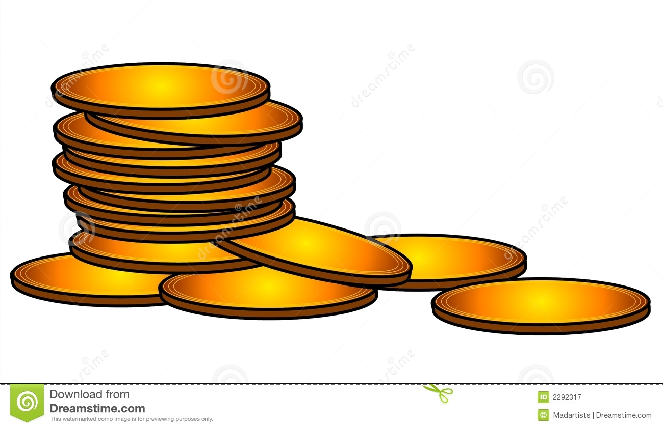 Gold Coins Cash Money Clip Art Royalty Free Stock Photography ...