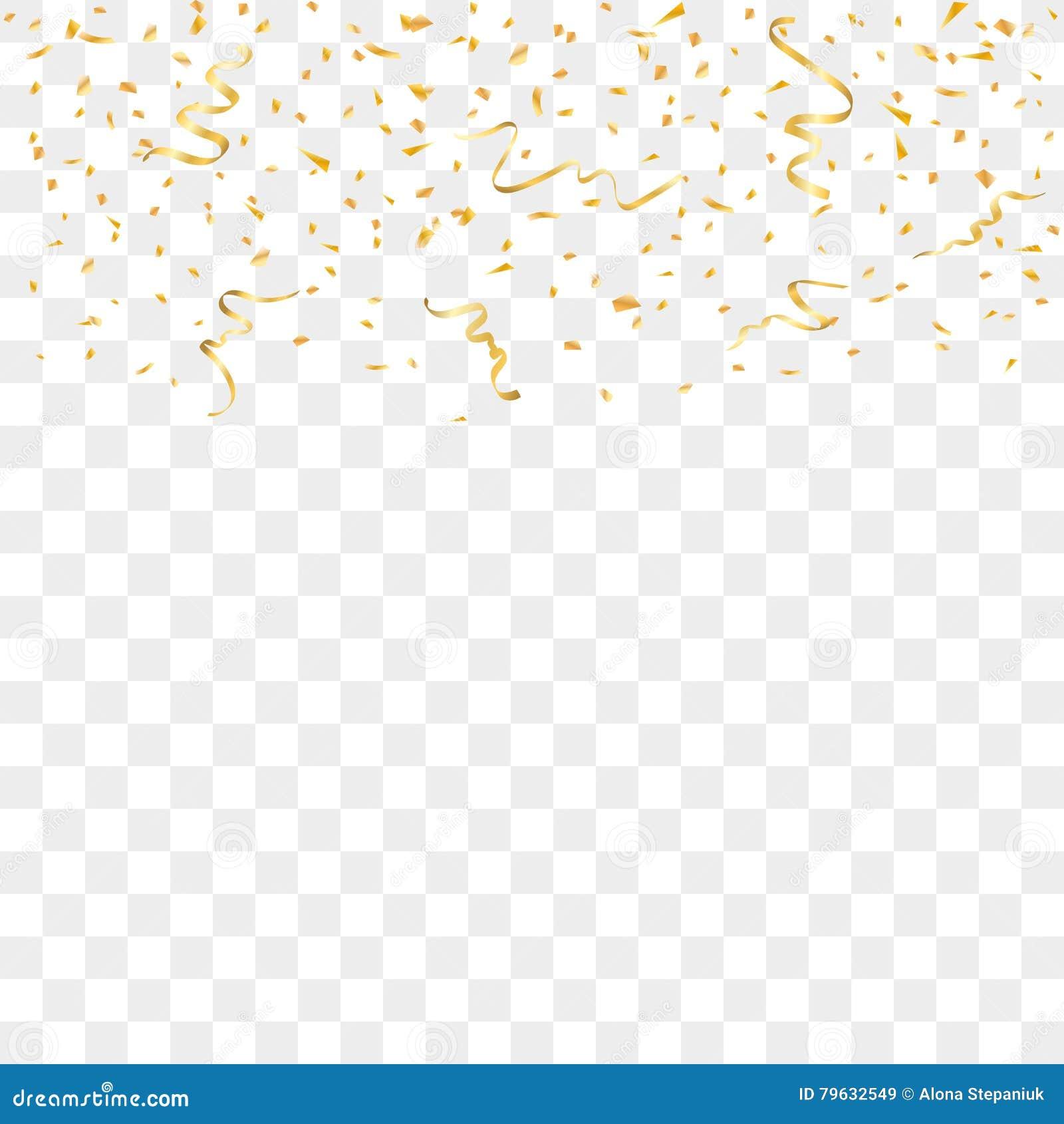 Confetti background vector golden confetti background - Royalty Free Vector Download Gold Confetti Background