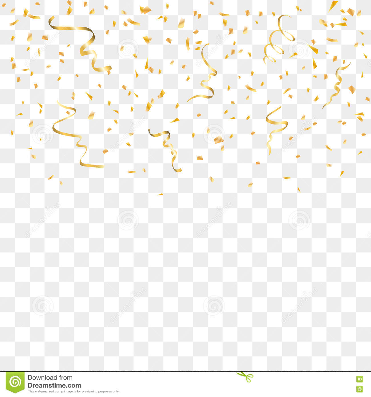 gold party vector - photo #34