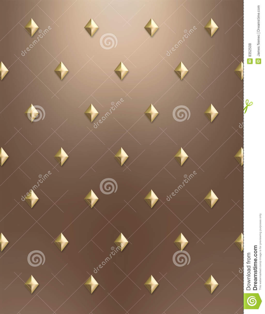 Gold Amp Copper Diamond Background Royalty Free Stock Photos