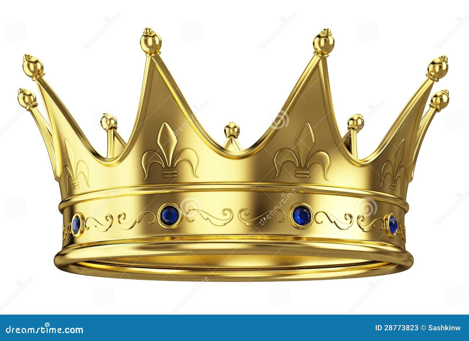 Gold Crown Stock Photos - Image: 28773823